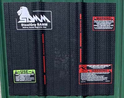 SteelGrip SAMM Inc, Magnetic Safe Mats Steel Roofing